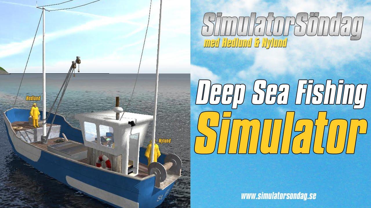 Simulators ndag deep sea fishing simulator youtube for Sea fishing games