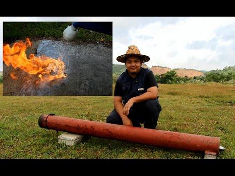 Calcium Carbide Cannon