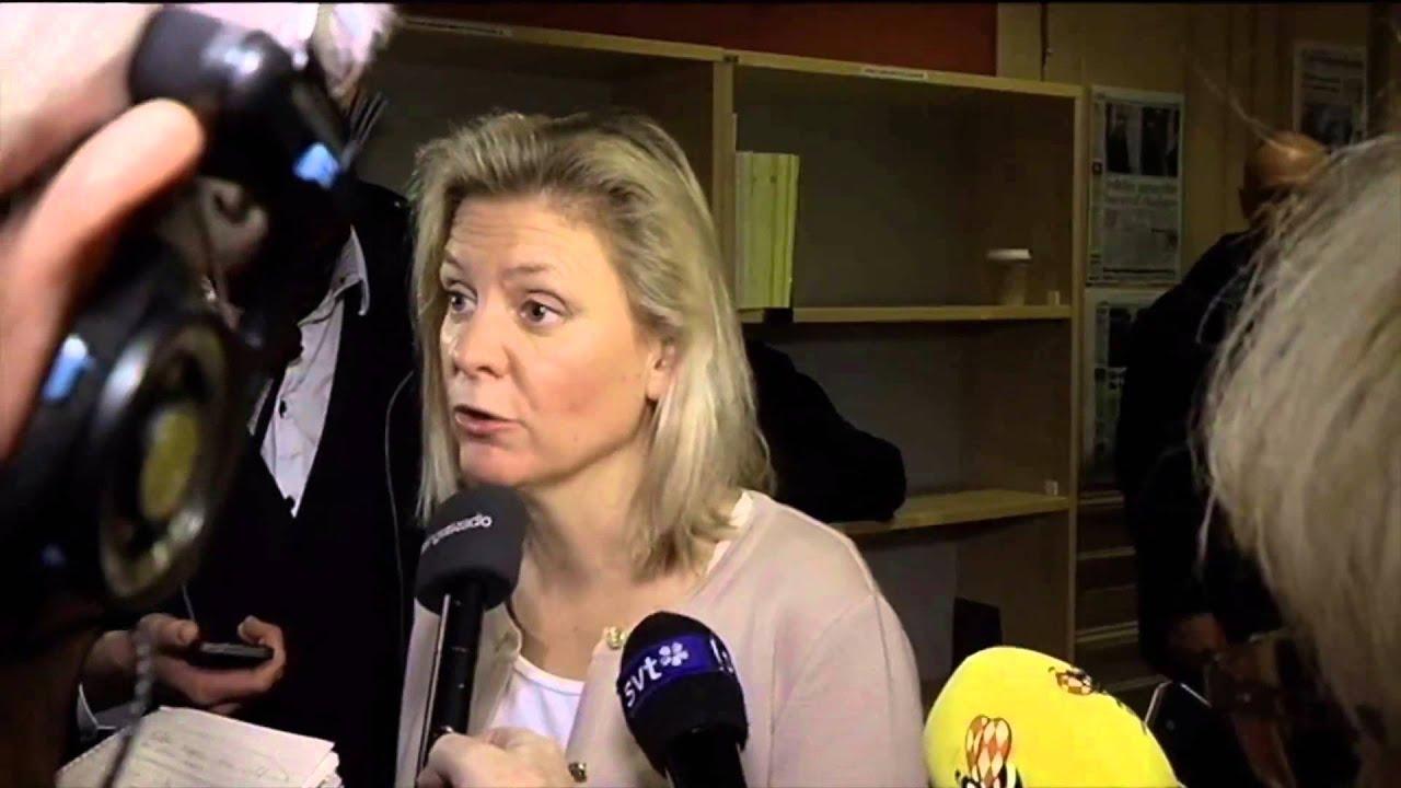 Andersson sd ar ett nyfascistiskt parti