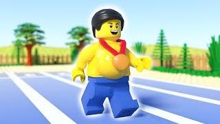 LEGO Fat Man Running - LEGO Sport Fail (2018)