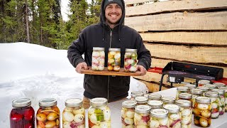 Pickling 350 Eggs | Preserving Food for Winter in Alaska