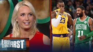 Download Kyrie Irving should reunite with LeBron in LA - Sarah Kustok | NBA | FIRST THINGS FIRST Mp3 and Videos