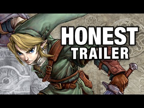 THE LEGEND OF ZELDA: TWILIGHT PRINCESS (Honest Game Trailers)