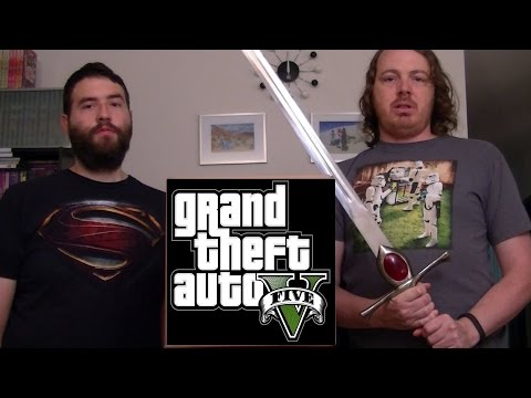 Live GTA 5 with Aaron, Emre, and You! - GameSocietyPimps (April 13th 2016)