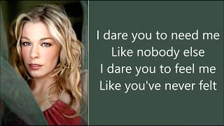 Watch Leann Rimes I Dare You video