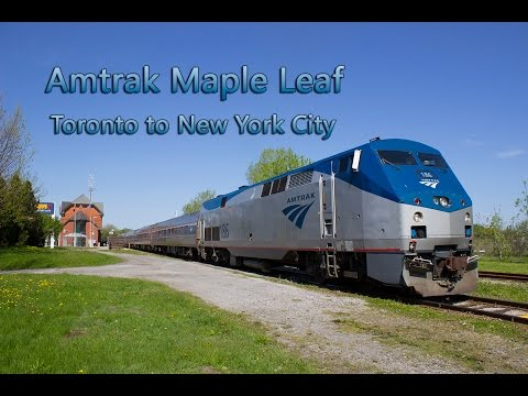 Amtrak Maple Leaf #64 Ride From Toronto To New York