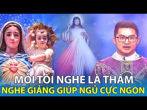 """🔴TRỰC TIẾP:""""Đêm muộn buồn phiền nghe lời Cha giảng tiêu tan mệt mỏi"""" ngủ ngon! Cha Nguyễn Minh Quang"""