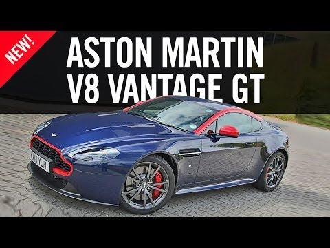 Aston Martin V8 Vantage GT N430 Review First Drive