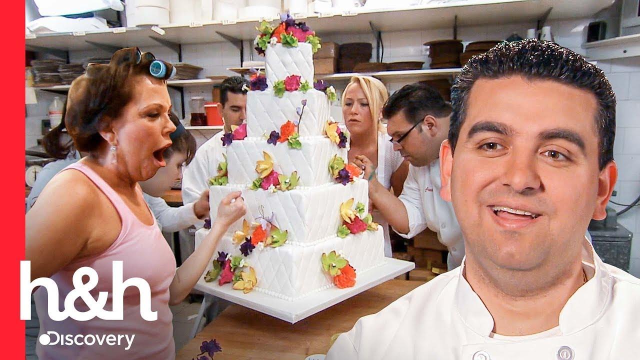 Download Noiva nervosa acaba estragando o bolo de casamento com as mãos | Cake Boss | Discovery H&H Brasil