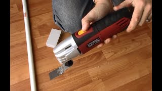 Harbor Freight Variable Speed Oscillating Multi-Tool Unboxing Review by Chicago Electric 63113 63111