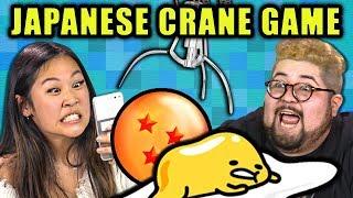 Download WINNING ON A JAPANESE CRANE GAME | Toreba Crane Game (React) Mp3 and Videos