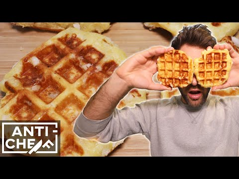 How To Make PERFECT BELGIAN WAFFLES