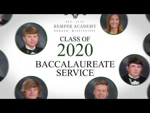 2020 Kemper Academy Graduation