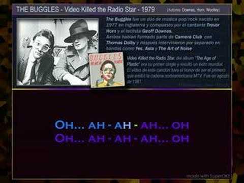 BUGGLES - Video Killed The Radio Star (Karaoke)