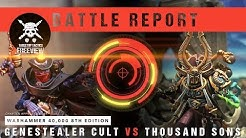 Warhammer 40,000 Battle Report: Genestealer Cult vs Thousand Sons 2000pts