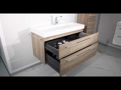 Intarbad - Designbader - Badmöbel  Bella 120cm