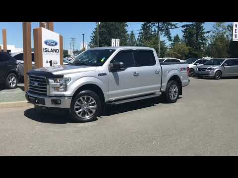 2016 Ford F-150 XLT 301A 5.0L SuperCrew W/ Tonneau Cover, Backup Camera Review| Island Ford