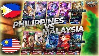 Philippines No.1 Harith vs. Malaysia No.1 Gusion!! National Arena Contest MLBB
