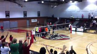 Pierce College vs. Santa Rosa Volleyball 2010 State Championship Thumbnail