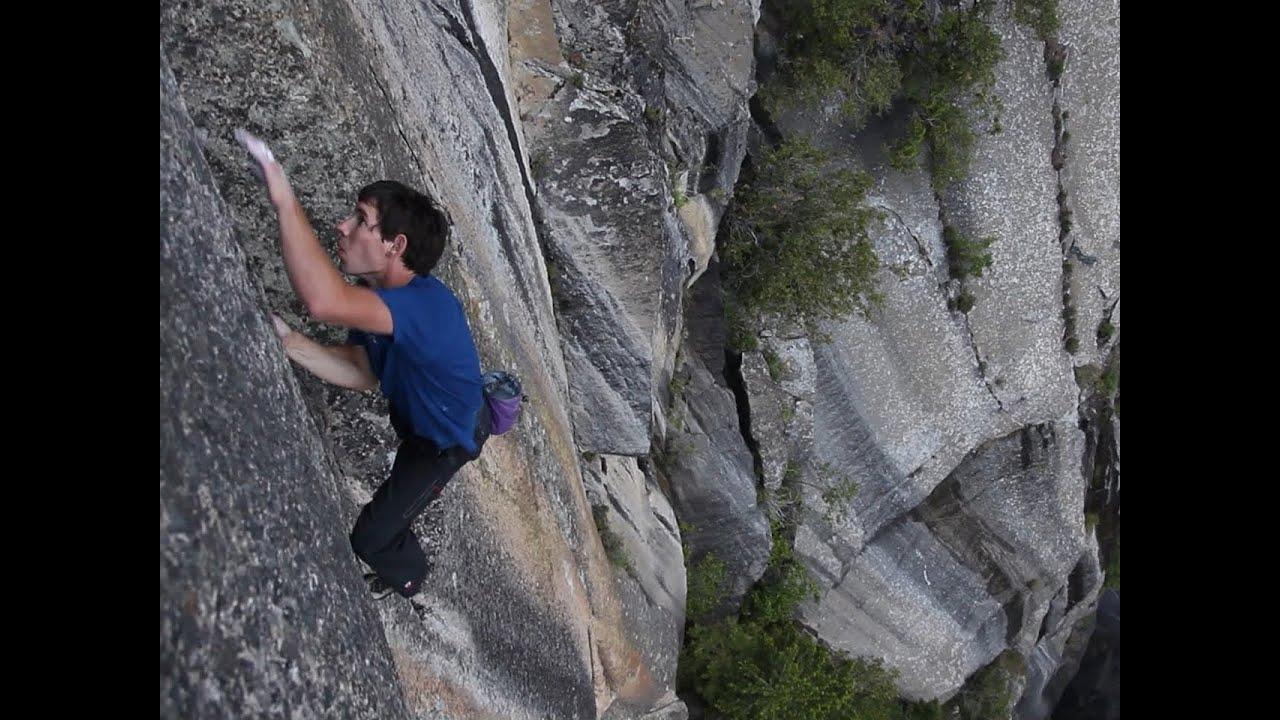 Free Climber Alex Honnold