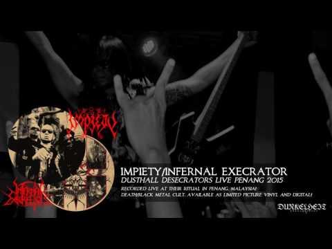 Impiety/InfernalExecrator - Dusthall Desecrators Live Penang 2015 (