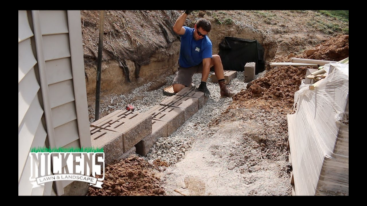 How to Set a Retaining Wall Base | Versa-Lok Blocks