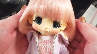KIKIPOP! Kinoko Juice Azone Doll Unboxing - Honey Pink