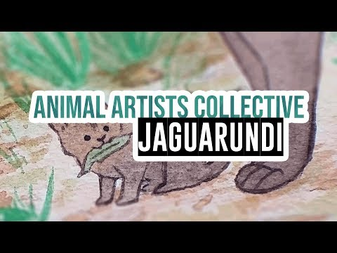 Animal Artists Collective - Tropical Rainforests: the jaguarundi!
