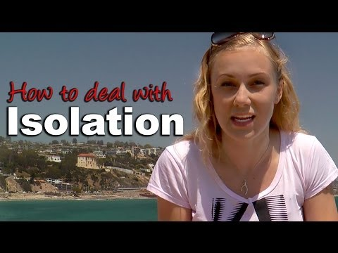 How to deal with Isolation - mental Health Help with Kati Morton