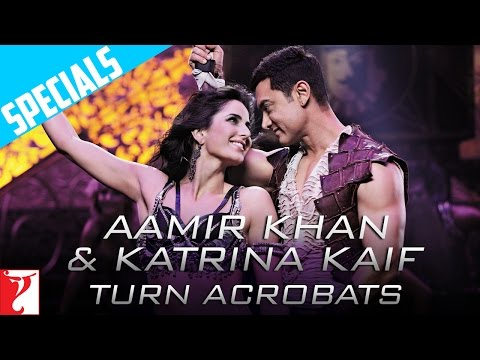 Aamir Khan & Katrina Kaif Turn Acrobats | DHOOM:3