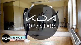 "K/DA ""POP/STARS"" Dance Tutorial (Chorus)"