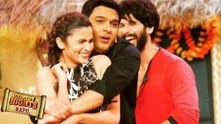 Shahid Kapoor, Alia Bhatt on COMEDY NIGHTS with Kapil | 11th October 2015 Episode