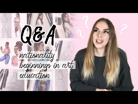 Q&A: My nationality, beginnings in art, education