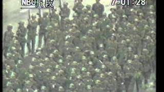 Repeat youtube video 解放軍第27軍北京街頭亂槍掃射實綠PLA 27th Army Indiscriminate firing in the Street