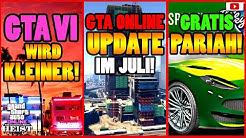 🙌Alle Neuen Inhalte!🙌 GTA 6 Kleiner! Juli UPDATE! GRATIS Pariah + Mehr! [GTA 5 Online Casino Heist]