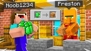 7 Ways to Stęal Noob1234's Emeralds! - Minecraft