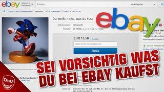 Sei vorsichtig was du bei EBAY kaufst!