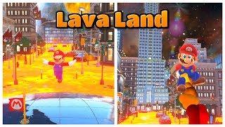 I turned Metro Kingdom into LAVA LAND! - Super Mario Odyssey