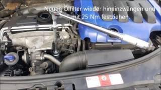 [Anleitung] Ölwechsel beim Audi A3 8P 2.0l 16V TDI