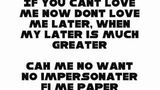 CHRIS MARTIN - PAPER LOVING LYRICS. (Dancehall Lyrics Overdrive)