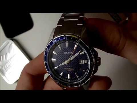 Pánské hodinky Casio Collection MTP 1290D 2AVEF   Men´s watch Casio  (unboxing) 7f764c40e54