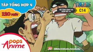 Đảo Hải Tặc Tập Tổng Hợp 4 - Luffy Và Băng Hải Tặc Mũ Rơm - Phim Hoạt Hình One Piece