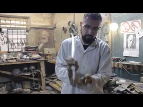 Тест клинка шпаги призводства нашей мастерской Kvetun Armory