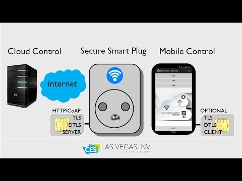 Securing the IoT with TLS/DTLS Secure Elements: a Smart Plug Usecase