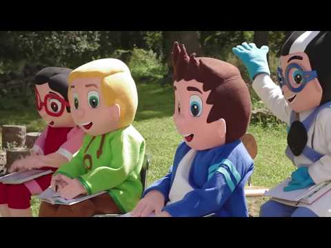 PJ Masks In Real Life Adventure School Learning - Toys Paw Patrol Ellie Sparkles