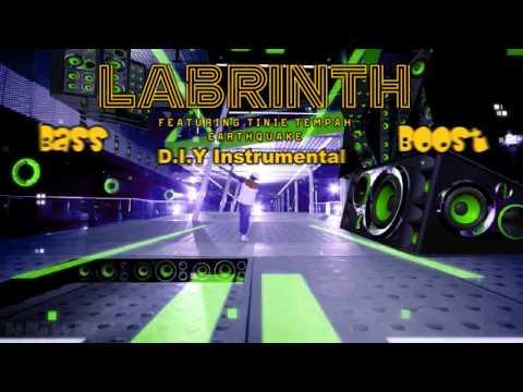 Labrinth - Earthquake (Instrumental/Karaoke) bass boost