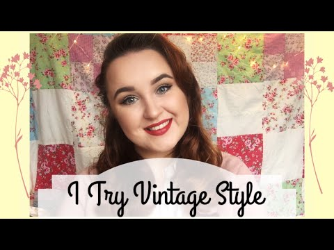 I TRY VINTAGE STYLE | Laura Kavanagh