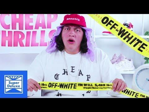 D.I.Y. Off-White Industrial Belt | Cheap Thrills