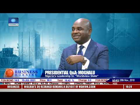 How To Really Fight Corruption In Nigeria-- Moghalu |Business Morning|