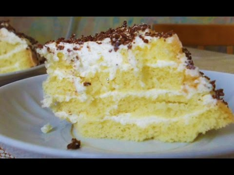 Домашние видео рецепты бисквит в мультиварке
